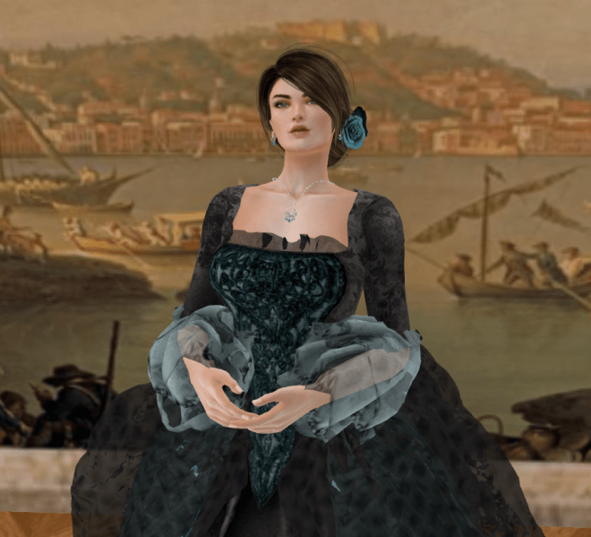 Second Life Fashion: New Golden Age Baroque Outfits for Women and