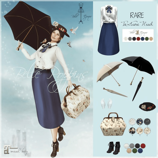 Belle Epoque Mary Poppins 23 NOv 2018