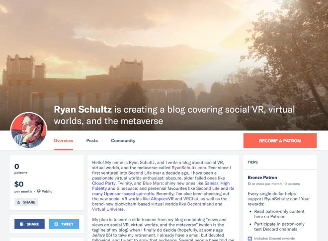Ryan Schultz Patreon 21 Nov 2018.png
