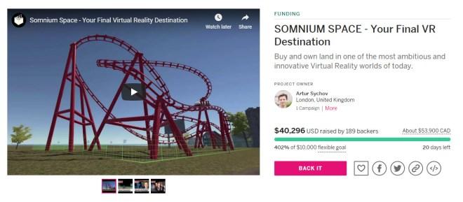 Somnium Space Indiegogo 1 5 Jan 2018.jpg