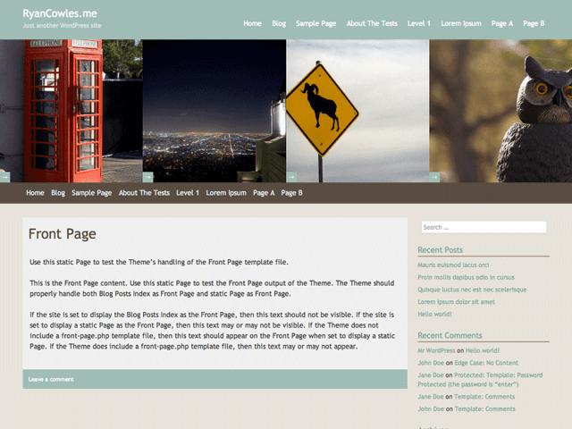 Free Responsive WordPress theme: meta_s2