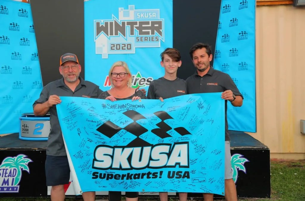SKUSA Dedication at Winter Series