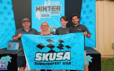 SKUSA Dedication at Winter Series