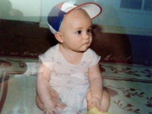 Ryan Diviney Sitting as a Baby