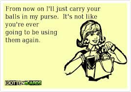 balls in purse