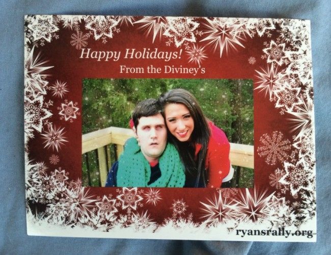 Diviney Christmas Card