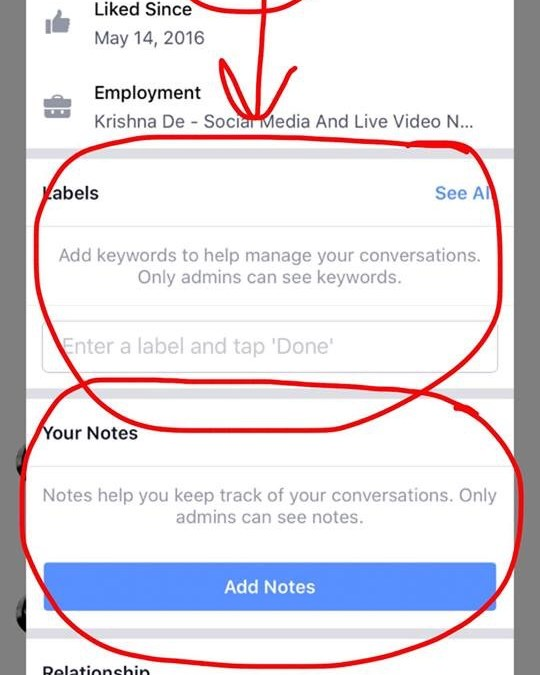Increase Your Sales By Using Facebook Messenger As A CRM With Labels And Notes