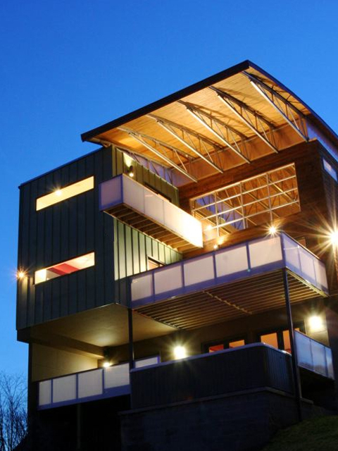 Bow House  Ryan Thewes Nashville Modern Architect