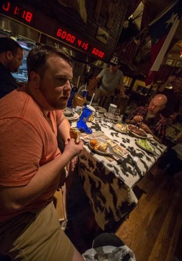 72 oz steak challenge Big Texan