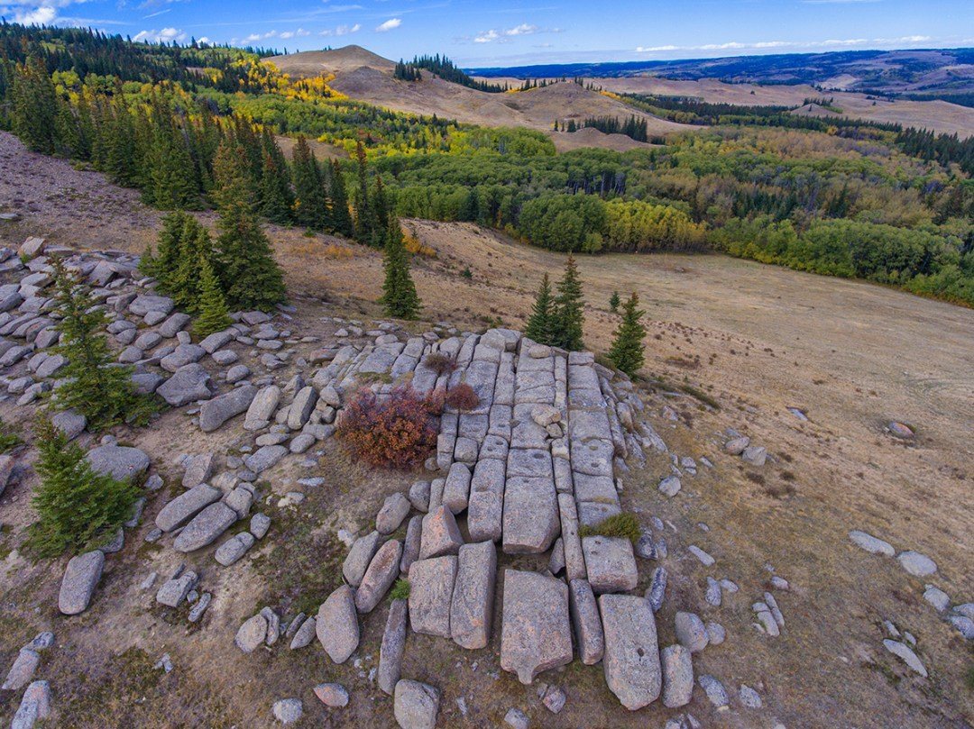 Mystery Rocks Cypress Hills