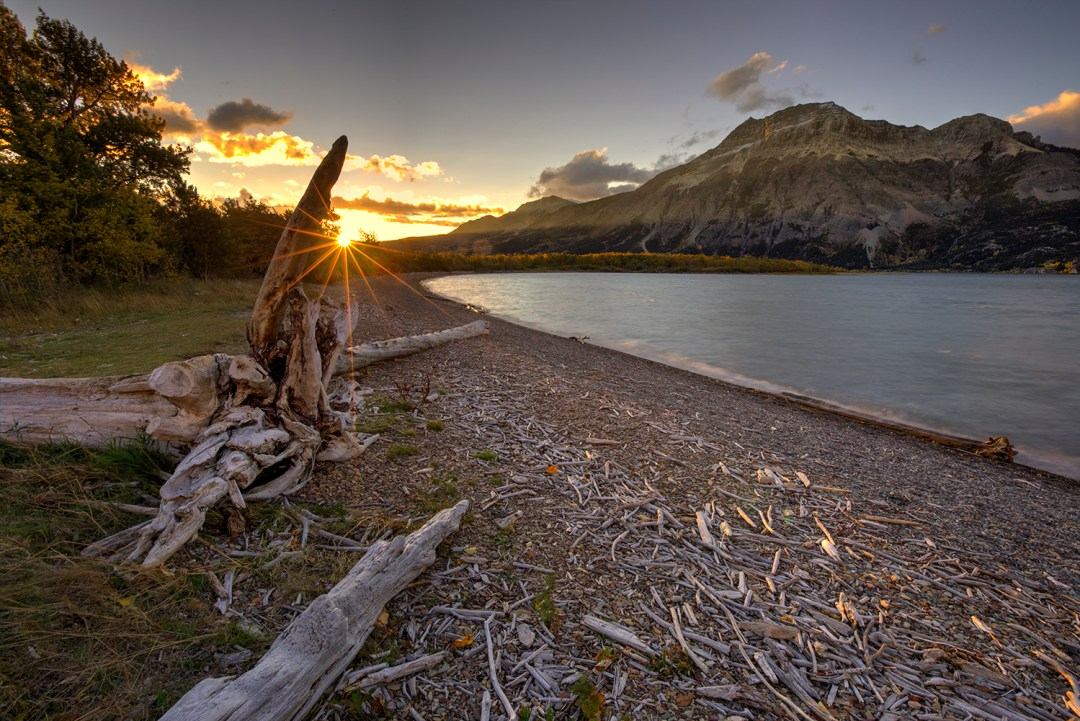 Waterton Lakes provincial park sunrise Ryan Wunsch