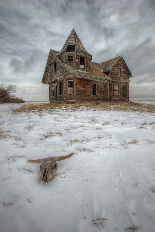 Witches house Dollard Saskatchewan abandoned