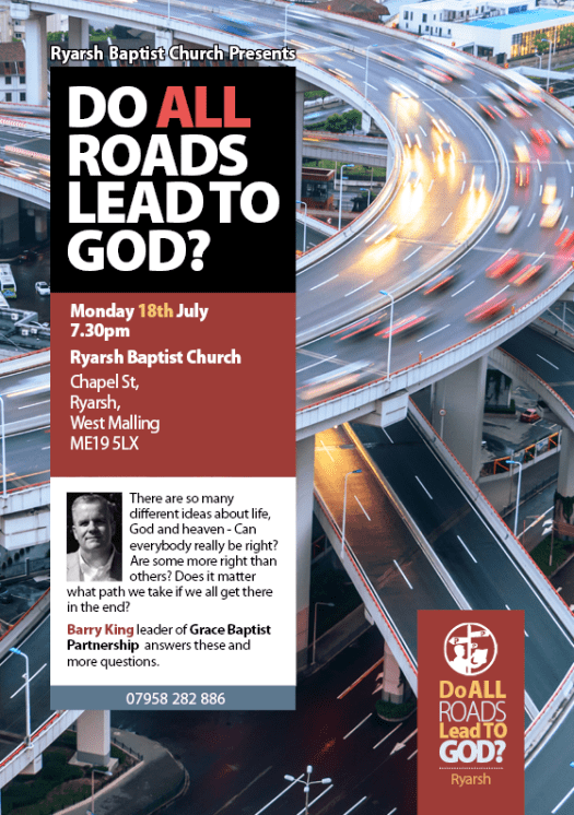 """Do all Roads Lead to God?"" Event"