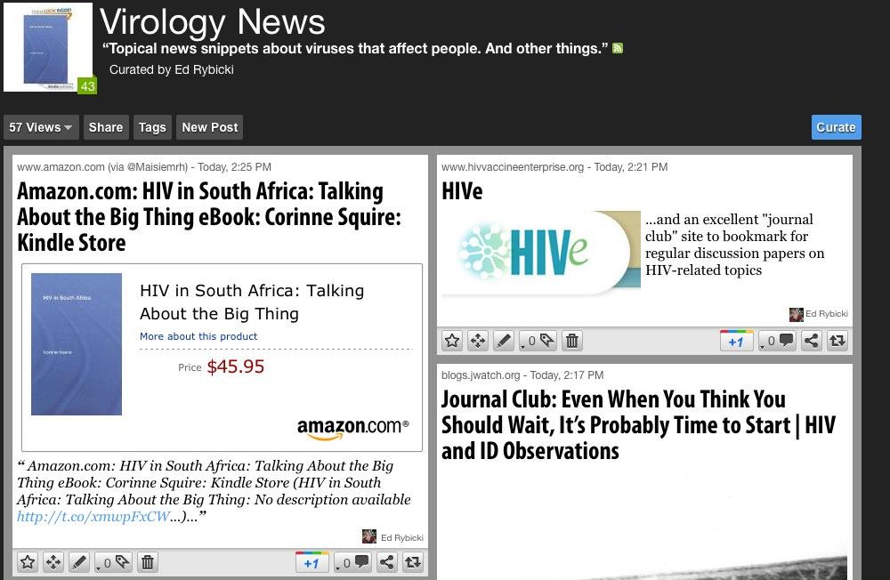 Scoop.it: Virology News