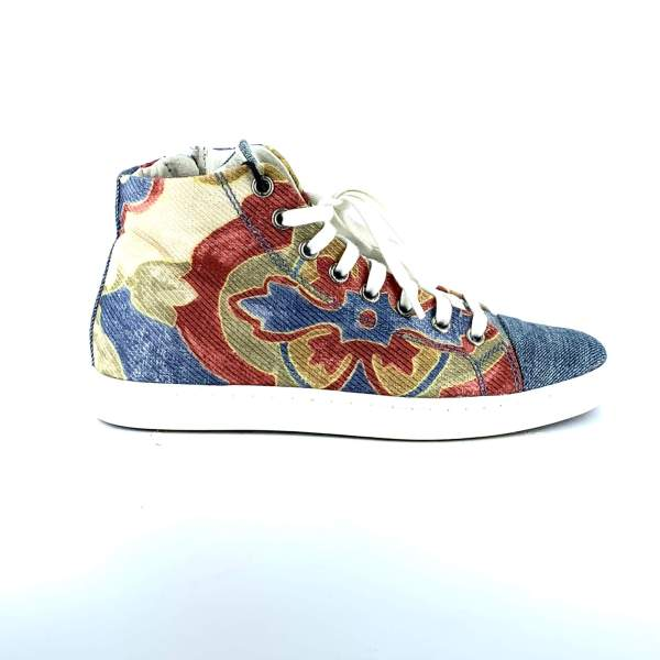 Full on Painted Denim RYC & RICH-YCLED Handmade Shoes From Italy 165€