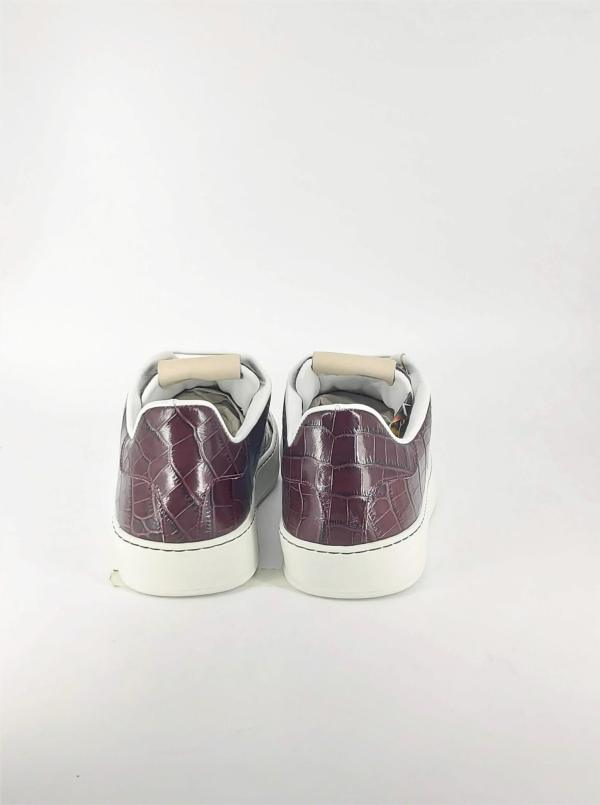 All Garnet Brown Coco leather RYC & RICH-YCLED Handmade Shoes From Italy 179€