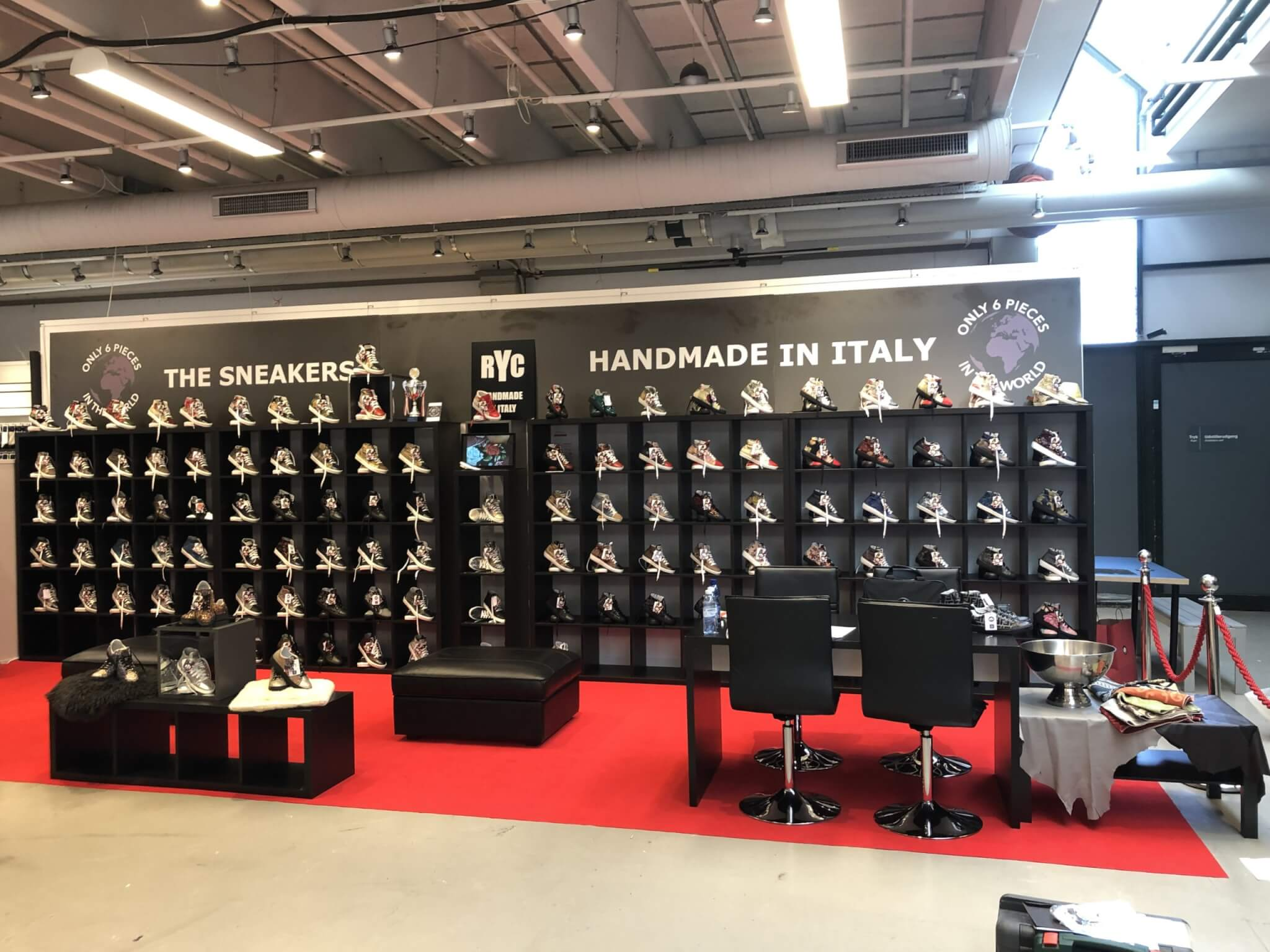 CIFF 2019 RYC & RICH-YCLED Handmade Shoes From Italy