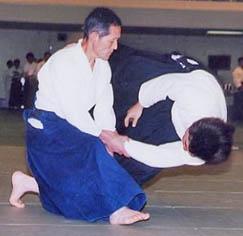Yoshinobu Takeda Shihan (8th dan)
