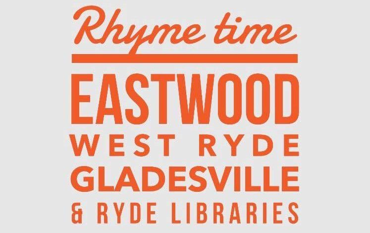 Rhyme Time - Eastwood, West Ryde, Gladesville and Ryde Library