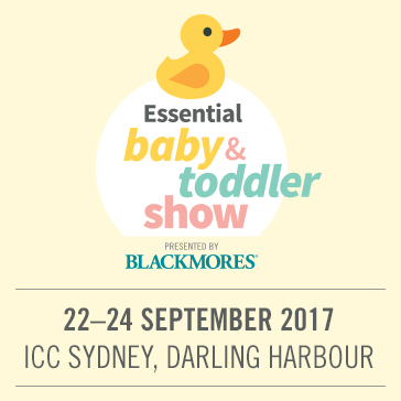 Essential Baby and Toddler Show presented by Blackmores, Darling Harbour