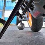Ryder Balls installed on kickstand, sport - Flame