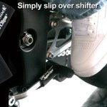 Black rubber shift sock