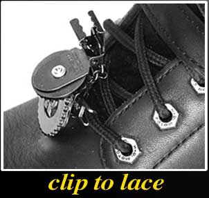 Clip to lace