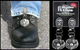 Skull bones laced