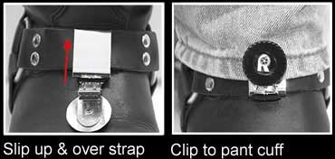 Stirrups boot clips instructions