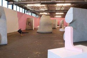 Erwin Wurm, 'Beauty Business,' installation view at Dallas Contemporary (Courtesy of the Dallas Contemporary)