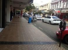 The main shopping street