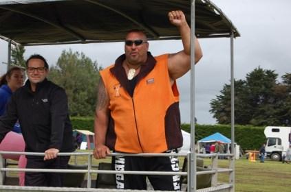 Levi, NZ strongest man