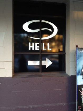 Hell, this way....!
