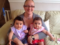 my twin nieces!