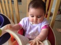 Anaiya reading!