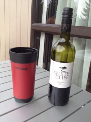 Celebratory wine!