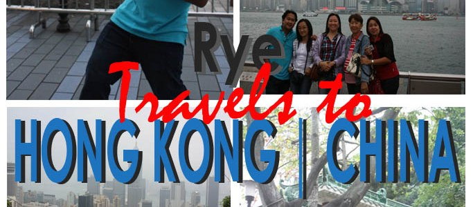 From a Mother and Son Trip to a Family Escapade | Rye Travels to Hong Kong, China