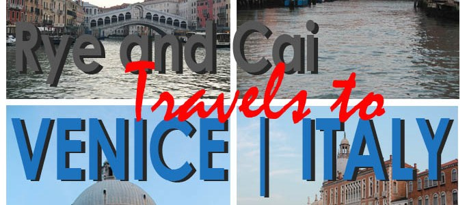 A One Night Stand with The Floating City | Rye and Cai Travels to Venice, Italy