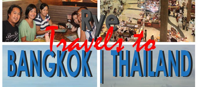 Good Times Despite of the Red and Yellow Shirt Protests | Rye Travels to Bangkok, Thailand