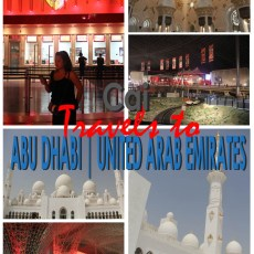 Absolutely Dashing | Cai Travels to Abu Dhabi, U.A.E.