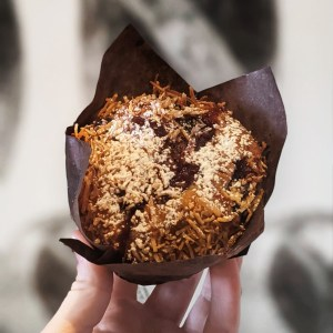 Muffin Blue Berry Rye + Dough Melbourne Bakery