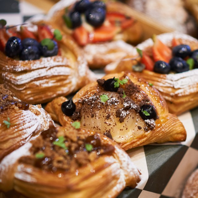 Fruit Danish Rye and Dough Bakery Melbourne