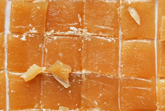 Hard butterscotch candy - ryeandginger.ca