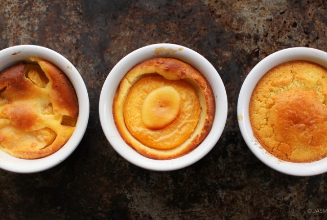 Peach Pudding - ryeandginger.ca
