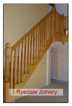 Craftsman made Oak staircase