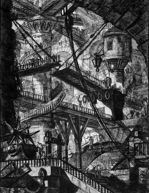 Printmaking: The Prisons series by Piranesi