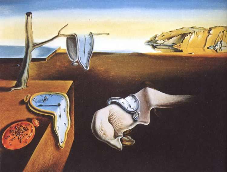 Salvador Dali -The Persistence of Memory 1931