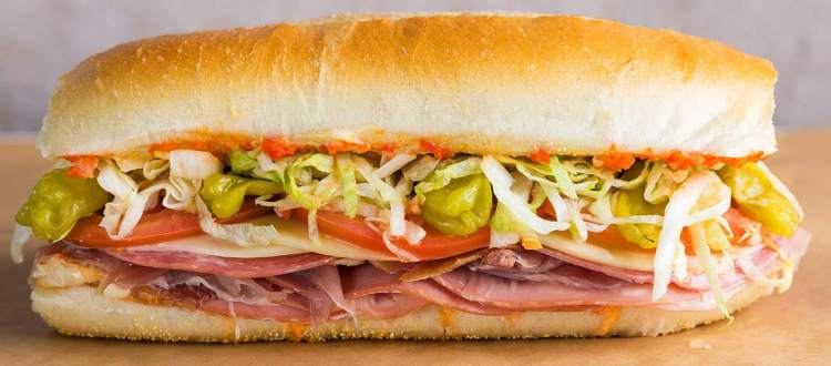 Down with subs Subway sandwich