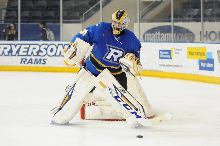 Graham?s shutout leads Rams to fifth straight win - Ryerson University