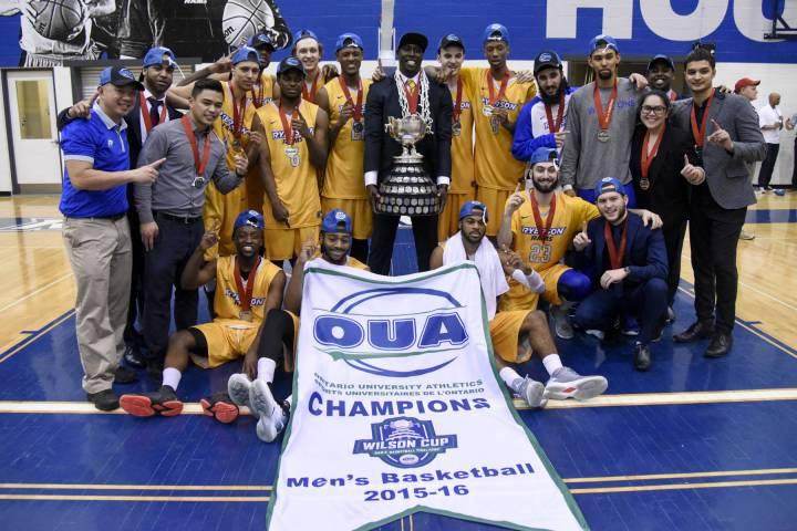 Rams win first OUA Wilson Cup in program history - Ryerson University